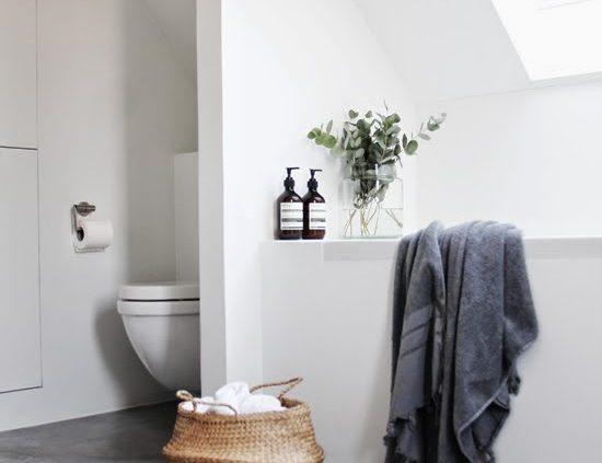 betongulv badeværelse
