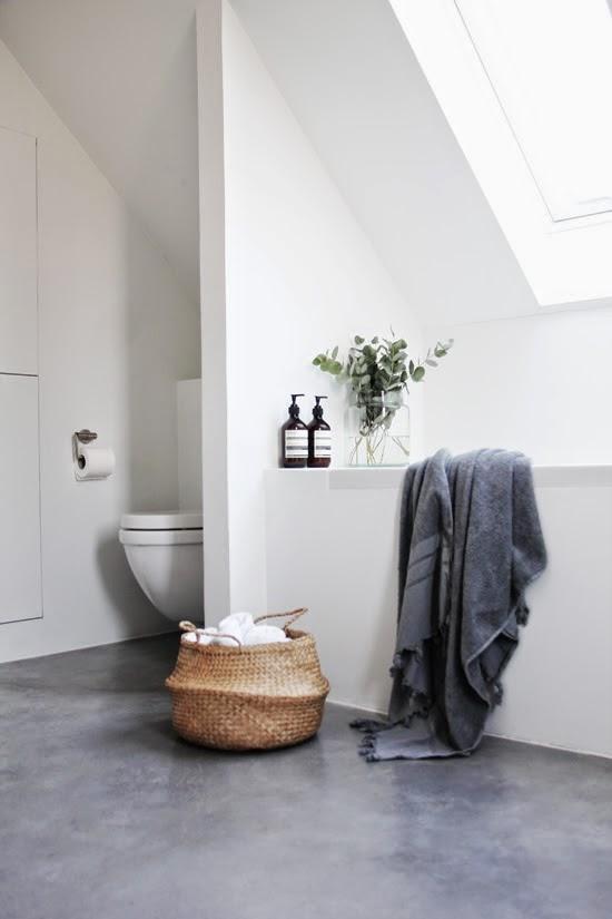 betongulv badeværelse Betongulv i badeværelset   Du er ikke den eneste, der overvejer det betongulv badeværelse